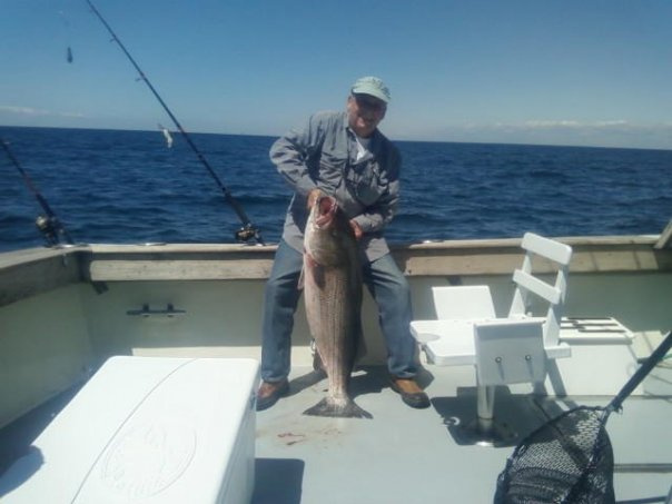 Rhode island fishing for Best striper fishing spot in ri